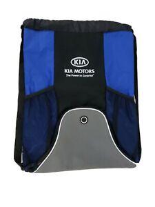 Kia Motors Leed's Advertising Drawstring Bookbag Backpack Bag