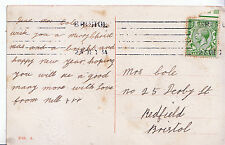Genealogy Postcard - Family History - Cole - Redfield - Bristol   U4038