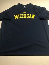 University of Michigan Wolverines NCAA Mens Athletic Shirt XL Adidas