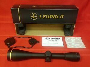 LEUPOLD FX-3 6x42mm MATTE 1'' WIDE DUPLEX RIFLE SCOPE #66815