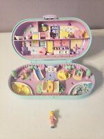 Vintage 1992 Polly Pocket Baby Nursery Preschool Playground 1 Figure Included