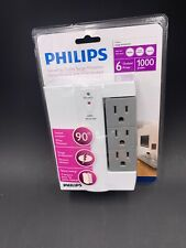 Philips Swiveling Outlet Surge Protector for 6 Outlets