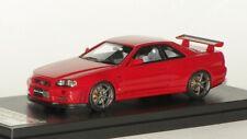 1/43 HPI MIRAGE 2000 NISSAN SKYLINE GT-R R34 V-SPEC N/IGNITION N/MARK43