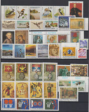 Yugoslavia YEAR SET 48 stamps + mini sheet lighthouses,fauna,medals,sport 1991