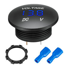 12V-24V Digital Car Motorcycle Led Voltmeter Voltage Gauge Panel Meter Display