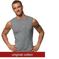 "Hanes®  Men's Sport Cool DRI® Sleeveless T-Shirt 4-Pack ""TAGLESS "" NEW MCT6A4"