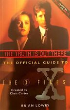 Official Guide to the  X-files volume 1 Truth is Out There used illust softcover