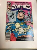 Secret Wars (1984) # 7 (VF/NM) Zeck Movie Disney Canadian Price Variant CPV