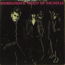 """GENERATION X 'VALLEY OF THE DOLLS' UK P/S 7"""" SINGLE ON MARBLED BROWN VINYL"""