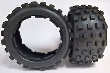 1/5 Baja 5B Belted Knobby Tyres Rear Badlands MX style for HPI PRC KM Rovan
