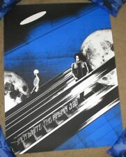 Jack White concert gig poster Los Angeles 3-20-18 2018 Mayan stripes third man