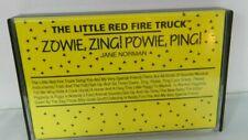 The Little Red Fire Truck Cassette Tape Zowie, Zing! Powie, Ping!  1992
