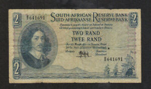 2 RAND VG-FINE BANKNOTE FROM  SOUTH AFRICA 1961-65 PICK-104
