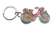 Porte-clés, Bijoux de Sac vélo Multicolore, Acier.