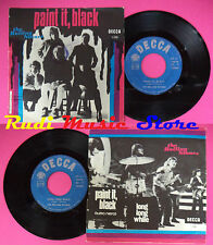 LP 45 7'' THE ROLLING STONES Paint it black Long long while no cd mc dvd vhs (*)