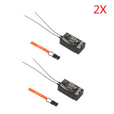 2X S603 6CH 2.4GHz DSM-X DSM2 Spread Receiver For JR Spektrum Dx5e Dx6i Dx7s Dx8