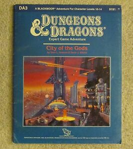 dungeons & dragons   city of the gods     da3           module