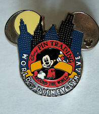 Disney Pin 48650 World of Disney NYC 5th Ave. Trading Around World Logo Mickey