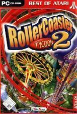 RollerCoaster Tycoon 2 parque de diversiones Deutsch * impecable