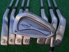 Tad Moore by Dunlop TM 01 Iron Set 3-PW Steel Rifle Firm Flex Shaft Irons NEW RH