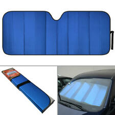 carXS Reflective Blue Car Sun Shade Jumbo Reversible Folding Windshield Cover