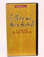 Hazelden Education Bullying & How To Handle It ISBN 1-59285-070-7 2003 3rd & 4th