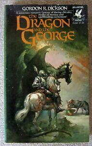 The Dragon and the George (Dragon Knight #1) Gordon R. Dickson PB 1st Ballantine