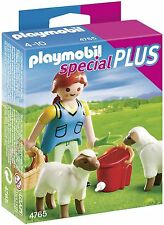 Playmobil Country Woman with Sheep Playset #4765  New