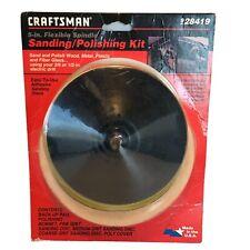 CRAFTSMAN VINTAGE SANDING POLISHING KIT ORIGINAL BOX #28419 FACTORY SEALED
