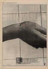 Peter Gabriel Biko Genesis Advert NME Cutting 1980