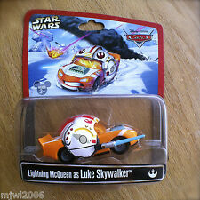 Disney PIXAR Cars STAR WARS Lightning McQueen as LUKE SKYWALKER diecast RARE