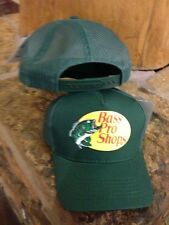 NEW! Green Cap by BASS PRO SHOPS Adult Unisex MESH Style Trucker Hat  B