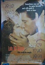 1991 Late For Dinner Original Movie Poster Single Sided Rolled Berg Wimmer