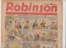 ROBINSON n°185 - 12 novembre 1939. Bel état rousseurs