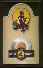 CAFFE BAR NEW YORK motivo 2 LAMIERA SCUDO SCUDO 3d caratterizzato Tin Sign 20 x 30 cm