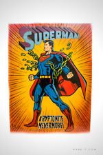 Marvel collectible paintings, artworks, statues -Superman Kryptonite Nevermore!