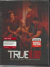 True Blood The Complete Fourth Season 6-Disc Set  BRAND NEW SEALED-FREE SHIP USA