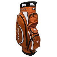 New Team Golf NCAA Texas Longhorns Clubhouse Golf Cart Bag