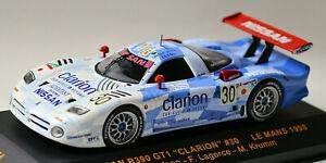 Nissan R390 GT1 LeMans 1998 #30  J. Nielsen F. Lagorce M. Krumm 1:43 IXO