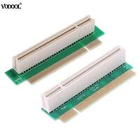 PCI Male to Female 32Bit 90 Degree Right Angled Riser Extension Card Adapter