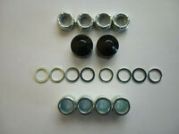 Skateboard Longboard Hardware Kit - Spacers,Speed Rings & Axle Nuts - 18 peices