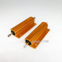 US Stock 4x 200 ohm 200R 50W Watt Aluminum Housed Metal Case Wirewound Resistors