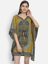 Blumen-Print Kaftan Frauen Maxi Kleid Plus Größe Kleidung Abendkleid Kleid