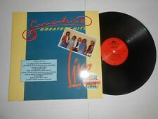LP- Smokie - Greatest Hits live -  Germany Pressing