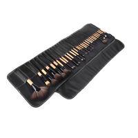 32 PCS Wood Makeup Brush Brushes Kit Professional Cosmetic Make Up Set Kit UK