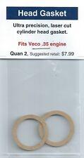 Veco .35 Cylinder Head Gasket 2 Pack NIP