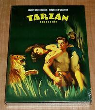 TARZAN COLECCION DVD NUEVO 12 PELICULAS JOHNNY WEISSMULLER ACCION (SIN ABRIR) R2