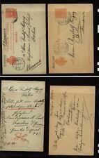 Spain   2  used   postal   cards     AT0518