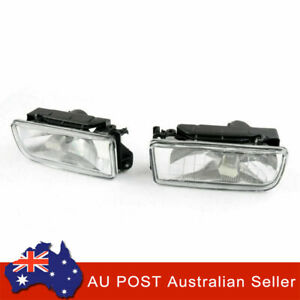 2x Front Bumper Fog Lights Lamps Clear Lens For BMW E36 3 Series 318I 92-98 SP