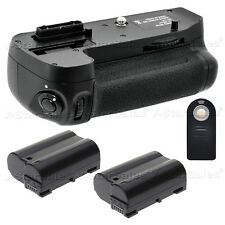 Battery Grip for Nikon D7200 + 2x EN-EL15 Batteries + Universal Remote Control